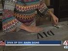 Diva of DIY: How to make a customized barn sign