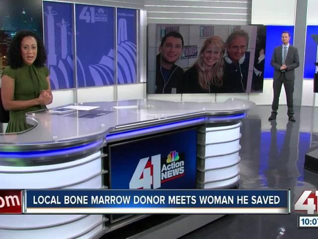 Leukemia survivor meets donor who saved her life