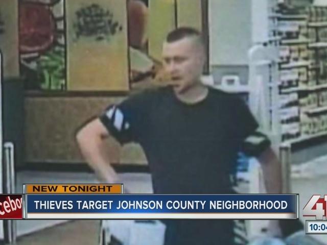 Thieves target Johnson County neighborhood