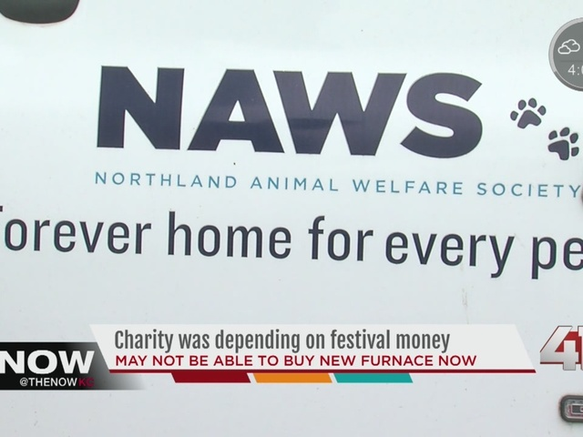Charity was depending on festival money
