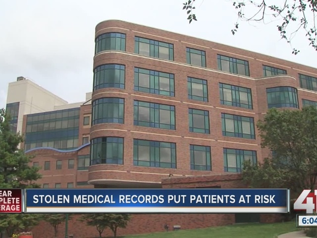 Hundreds of medical records stolen from car
