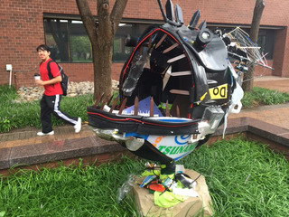 JCCC students turn trash into treasure