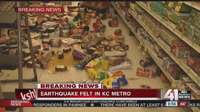 Oklahoma earthquake felt across Midwest - WCPO Cincinnati, OH
