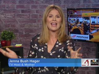 Jenna Bush Hager and BetterOurBuses.com