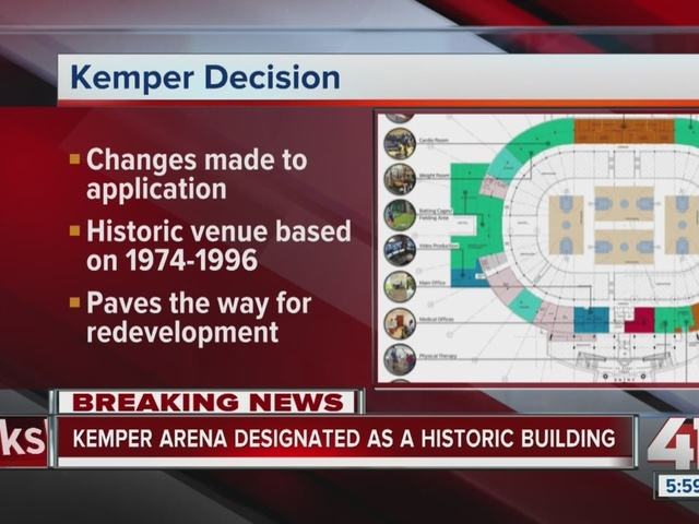 Kemper Arena receives historic designation, placed on the National