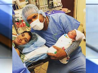 Royals Salvador Perez welcomes baby boy