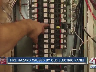 WATCH: Fire hazard caused by old electric panels