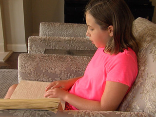 Student starts school year without braille books