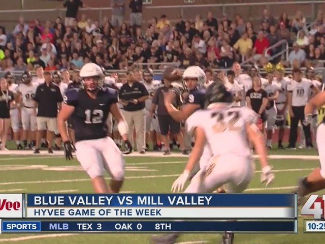 Hy-Vee Football Friday Night: Mill Valley and Blue Valley