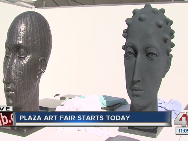 Plaza Art Fair begins today