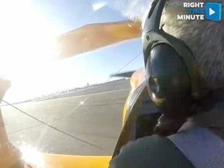 VIDEO: Plane carsh on Nevada runway