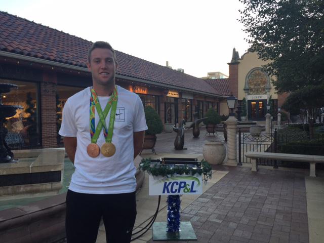 Olympian Jack Sock to flip on Plaza Lights