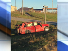Vehicle collides with truck in Powhattan