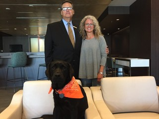 KC hotel's service dog wants to ease travel woes