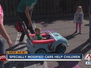 Rockhurst's 'Go Baby Go!' program helps children