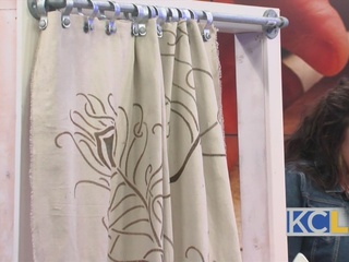 DIY No Sew Curtains