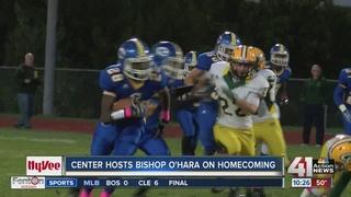 Hy-Vee Football: Center and Bishop O'Hara