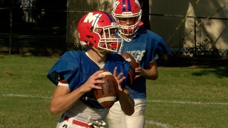 Bishop Miege's Landry Weber coming into his own
