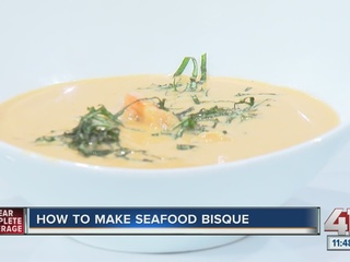 How to make seafood bisque