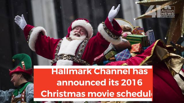 hallmark channel adds movies to 2016 holiday schedule - What Christmas Movies Are On Tv Tonight