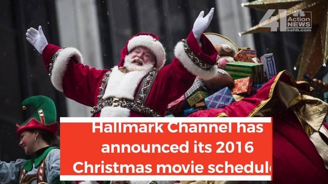 Hallmark Channel Announces 2016 Christmas Movie Schedule Kjrhcom