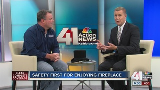 Safety first for enjoying your fireplace