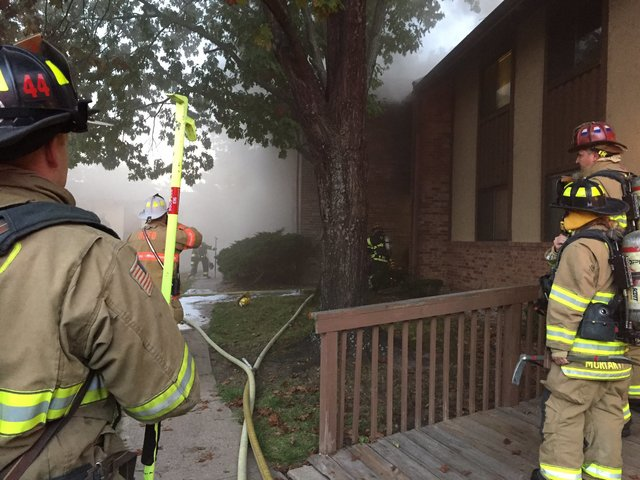 7 people rescued from Overland Park fire