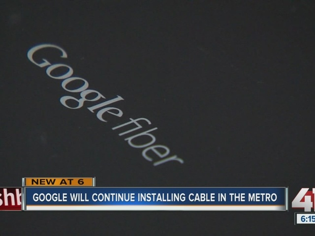 Google will continue installing cable in the metro