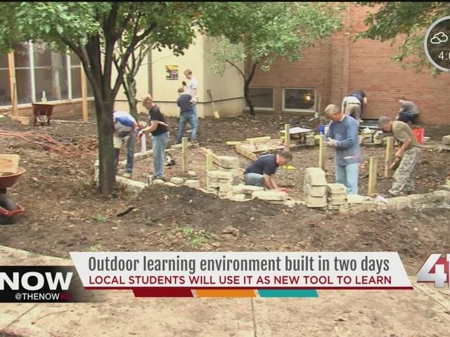 KC school gets its own outdoor classroom
