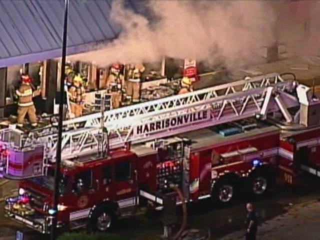 Dollar Tree in Harrisonville catches fire
