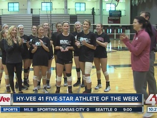 Athletes of the week: BV West volleyball players