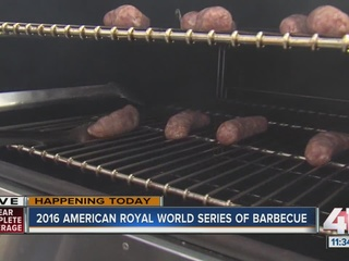 American Royal BBQ competition draws hundreds