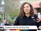 First time voters weigh in on Election Day