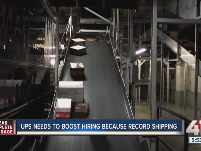 Beautiful Great UPS Hiring 1,100 New Jobs In Kansas City For Holiday Help KSHB.com 41