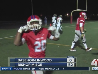 Bishop Miege wins state semifinals game