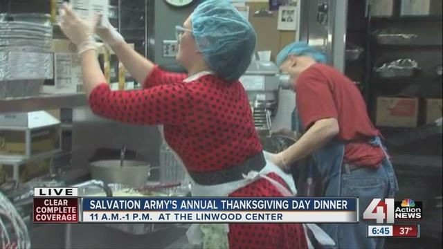 Pueblo Salvation Army offers Thanksgiving dinner