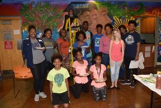 Community teen center website