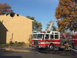 Multiple families displaced after fire in Lenexa