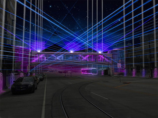 Holiday laser show to light up downtown KC