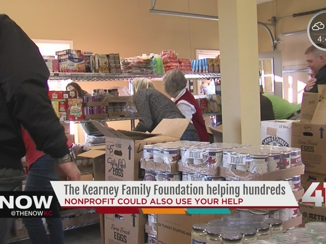 The Kearney Family Foundation helps hundreds of families