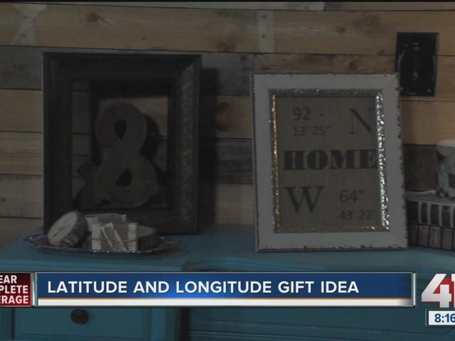 Diva of DIY: latitude and longitude gift idea