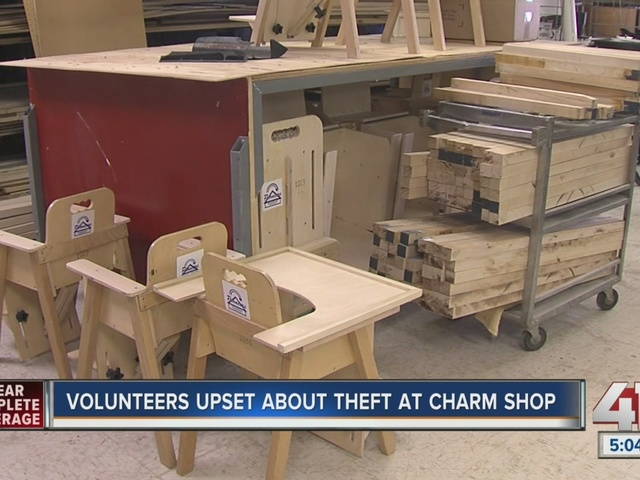 Thieves steal tools used to help Kansas City kids who are