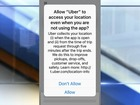 New Uber setting raises privacy concerns