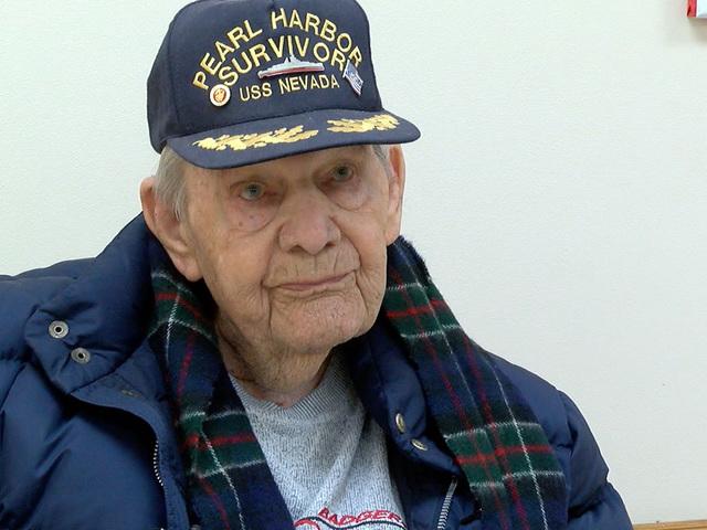 Pearl Harbor survivor honored in Mission, KS