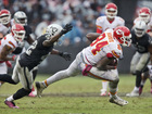 Raiders visit Chiefs with AFC West implications