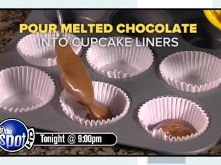 DYI peanut butter cups that anyone can make!