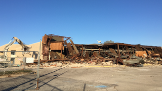 WATCH: Crews start tearing down Metro North Mall