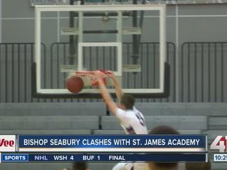 St. James Academy beats Bishop Seabury
