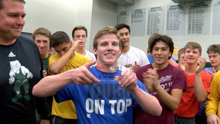 Free State wrestler Tate Steele is outstanding