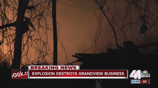 Grandview Fire and Explosion Investigation Finds Evidence of Fireworks Manufacturing